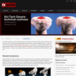 Sci-Tech Oscars: technical coolness