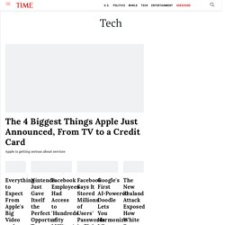 Techland | News and reviews from the world of gadgets, gear, apps and the web | TIME.com