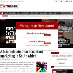 memeburn | web-savvy analysis & startup news for emerging markets