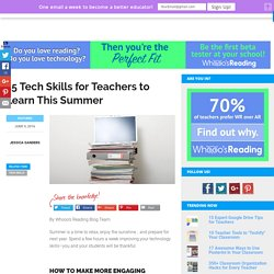15 Tech Skills to Learn This Summer
