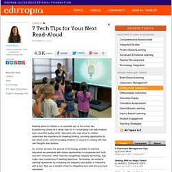 7 Tech Tips for Your Next Read-Aloud