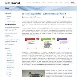 La réalité augmentée : outil marketing du futur ?