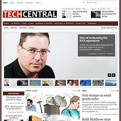 TechCentral | South Africa's quality technology news source