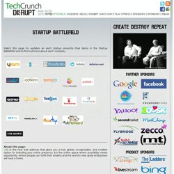 Battlefield at TechCrunch Disrupt