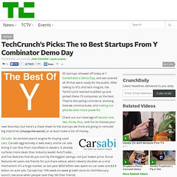 s Picks: The 10 Best Startups From Y Combinator Demo Day