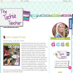 The Techie Teacher: Static vs. Dynamic QR Codes