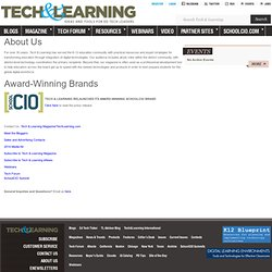 Technology & Learning - The Resource for Education Technology Leaders