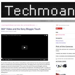 Techmoan - 360º Video and the Sony Bloggie Touch