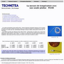 Mesure de température avec une sonde Pt100