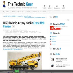 LEGO Technic 42009 Mobile Crane MKII Review - LEGO Reviews & Videos