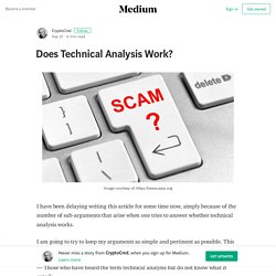 Does Technical Analysis Work?