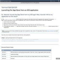 Technical Q&A QA1629: Technical Q&A QA1629