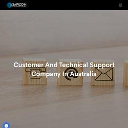 Technical Support Company in Australia