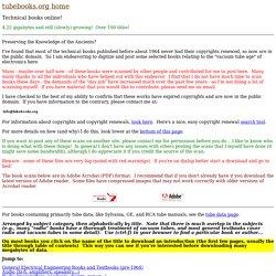 Technical books online