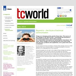 tcworld.info - technical communication