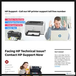 Facing HP Technical Issue? Contact HP Support Now
