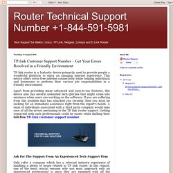 TP-link Customer Support Number – Get Your Errors Resolved in a Friendly Environment