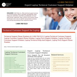 800-760-5113-Laptop Technical Customer Support Number