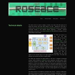 » Technical details RoseAce