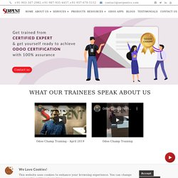 Odoo learn,Technical & Functional Training,Get Odoo Certified-SepentCS