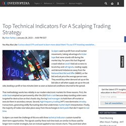 Top Technical Indicators For A Scalping Trading Strategy