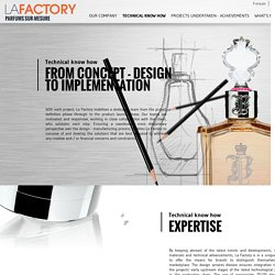 Technical know how - La Factory