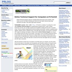 Online Technical Support for Computers at PcTech24