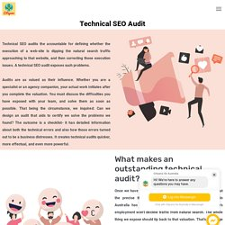 Technical SEO Audit is an process to audit your website technoloy
