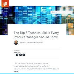 The Top 5 Technical Skills Every Product Manager Should Know | UserVoice Blog