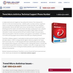 Trend Micro Technical Support