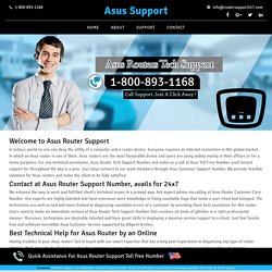 Asus technical support