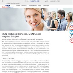 MSN Technical Support