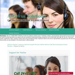 Norton Technical Support Services