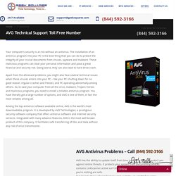 AVG Technical Support Toll Free Number