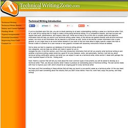 Technical Writing Jobs | Technical Writing Job