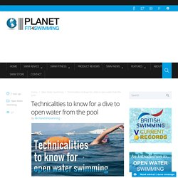 Technicalities to know for a dive to open water from the pool