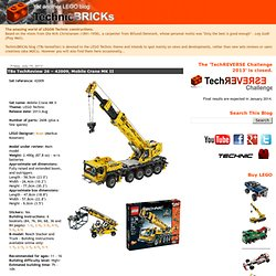 TBs TechReview 26 – 42009, Mobile Crane MK II