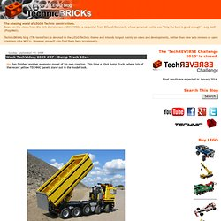 Week TechVideo, 2009 #37 - Dump Truck 10x4