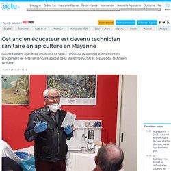 Cet ancien éducateur est devenu technicien sanitaire en apiculture en Mayenne