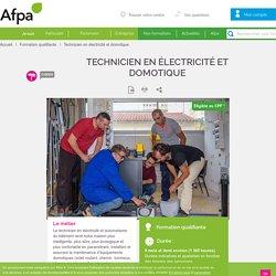 Technicien en électricité et domotique