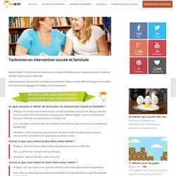 Fiche métier Technicien en intervention sociale et familiale (salaire, formations...)