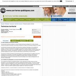 Technicien supérieur territorial - Concours de la FPT