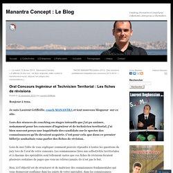 Oral Concours Ingénieur et Technicien Territorial : Les fiches de révisions