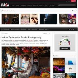 Indian Technicolor Trucks Photography