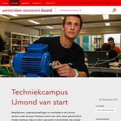 Techniekcampus IJmond van start