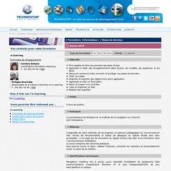 Access 2010 : Technifutur, Formations Informatique / / Bases de données