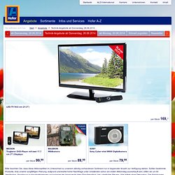 Technik-Angebote ab Donnerstag, 26.06.2014