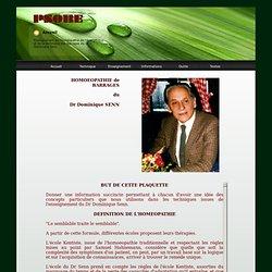 Homéopathie de barrages du Dr Senn