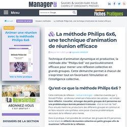 La méthode Philips 6x6, une technique d'animation de réunion efficace