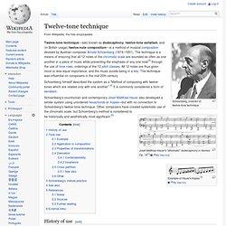 Twelve-tone technique